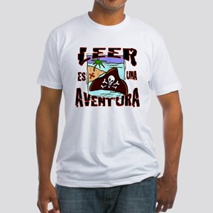 Reading is an Adventure SPANISH Fitted T-Shirt