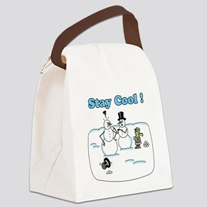 Stay Cool Canvas Lunch Bag