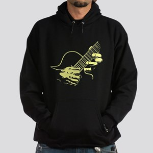 guitar-hands2-col-red-T Hoodie