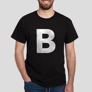Letter B White T-Shirt