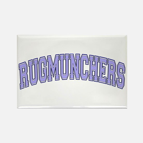 Rugmunchers Rectangle Magnet
