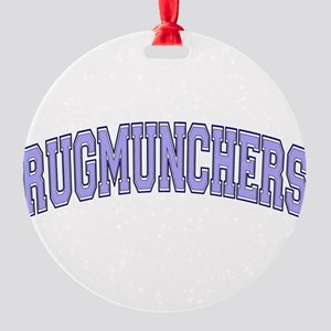 Rugmunchers Round Ornament
