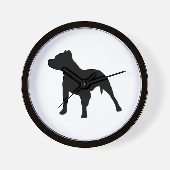 pitbull 1C Wall Clock