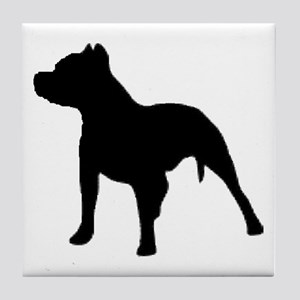 pitbull 1C Tile Coaster
