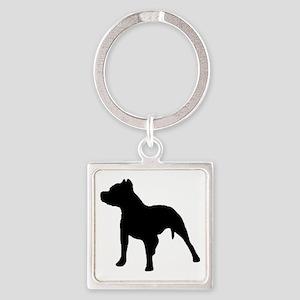 pitbull 1C Keychains