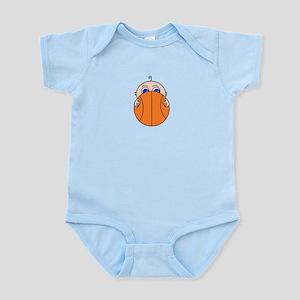 Baby Peeking Basketball Body Suit