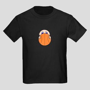 Baby Peeking Basketball T-Shirt