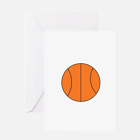 Basketball Belly Greeting Cards