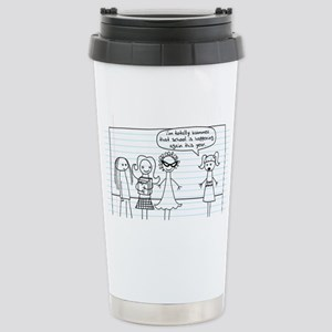 Totally Bummed Stainless Steel Travel Mug