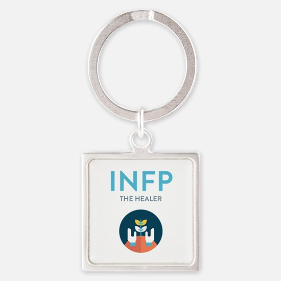 INFP Square Keychain