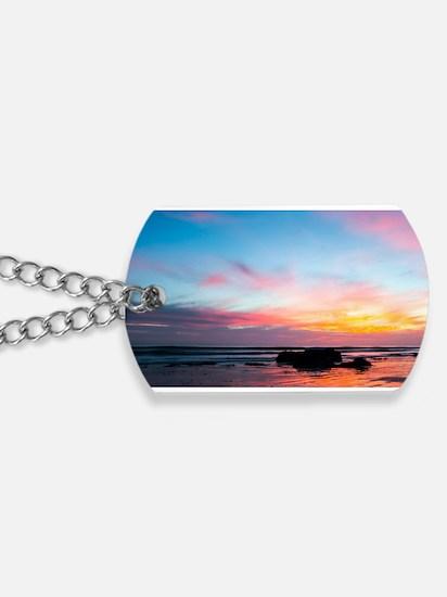 Sunset Handry's Beach Dog Tags