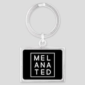 Melanated Landscape Keychain