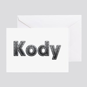 Kody Metal Greeting Card