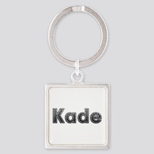 Kade Metal Square Keychain