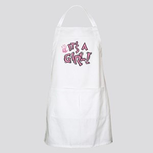 It's A Girl BBQ Apron