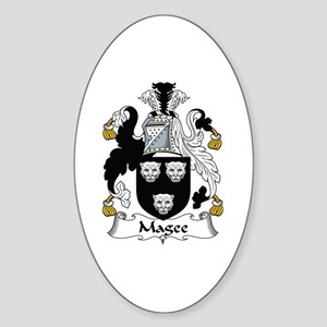 Magee Oval Sticker