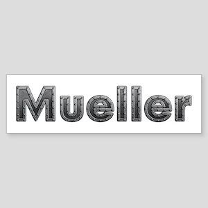 Mueller Metal Bumper Sticker