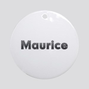 Maurice Metal Round Ornament