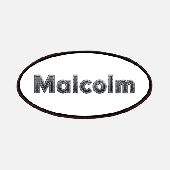 Malcolm Metal Patch