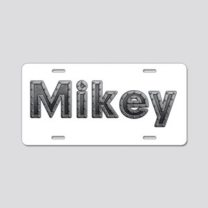 Mikey Metal Aluminum License Plate