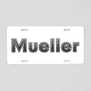 Mueller Metal Aluminum License Plate