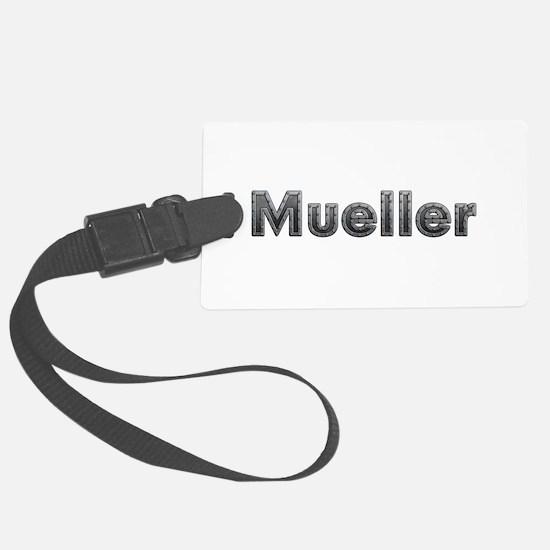 Mueller Metal Luggage Tag