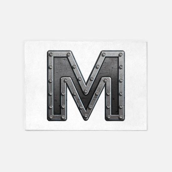 M Metal 5'x7' Area Rug