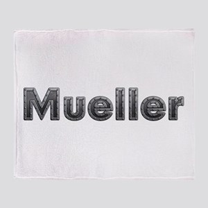 Mueller Metal Throw Blanket