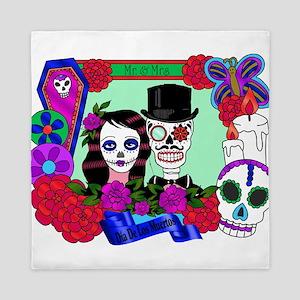 Best Seller Sugar Skull Queen Duvet