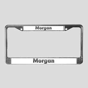 Morgan Metal License Plate Frame