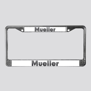 Mueller Metal License Plate Frame