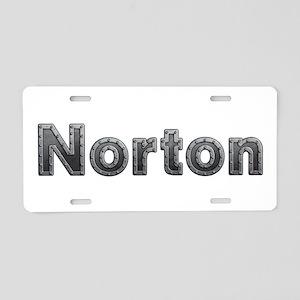 Norton Metal Aluminum License Plate
