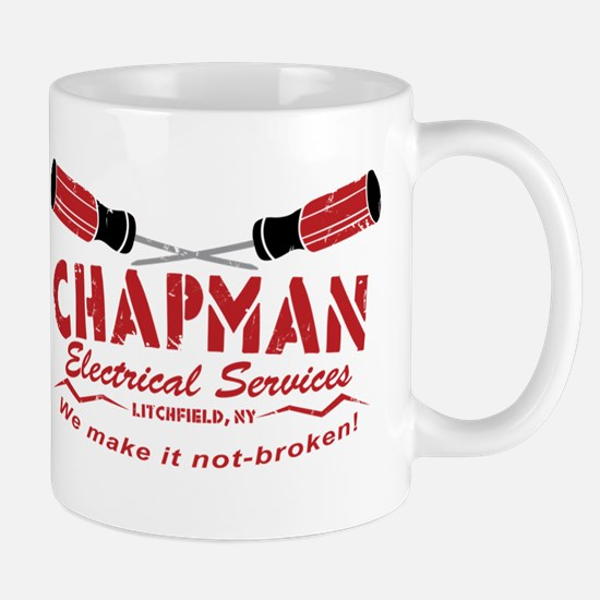 Chapman's Electrical Services Mug