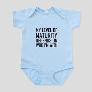 Maturity Level Body Suit