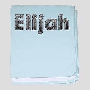 Elijah Metal baby blanket