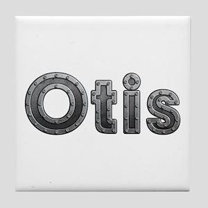 Otis Metal Tile Coaster