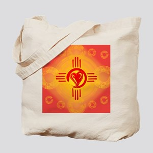 DESERT SUNSET ZIA LOVE! Tote Bag