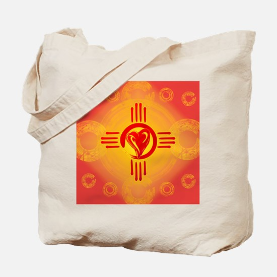 DESERT SUNSET ZIA LOVE! Tote Bag
