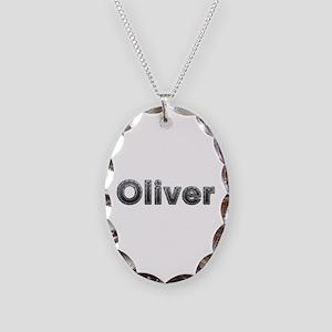 Oliver Metal Oval Necklace
