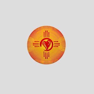 DESERT SUNSET ZIA LOVE! Mini Button