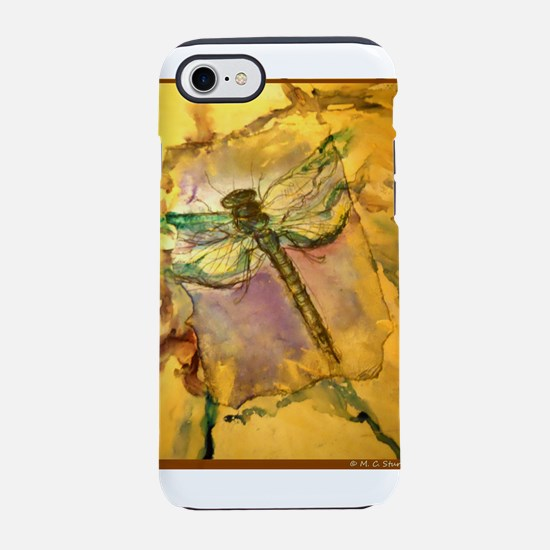Dragonfly! Beautiful nature art! iPhone 7 Tough Ca