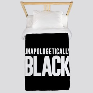 Unapologetically Black Twin Duvet Cover