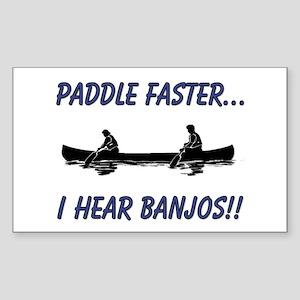 I Hear Banjo Sticker