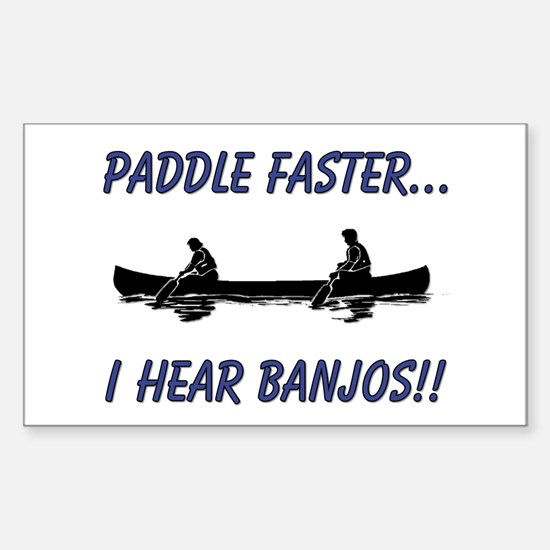 I Hear Banjo Decal