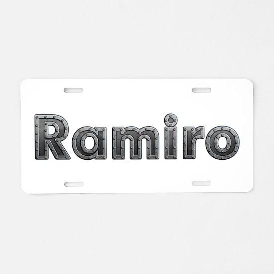 Ramiro Metal Aluminum License Plate