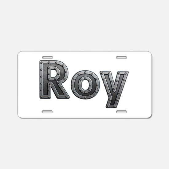 Roy Metal Aluminum License Plate