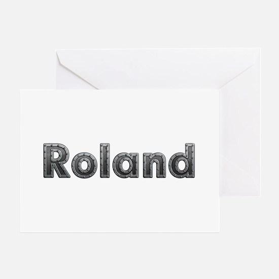 Roland Metal Greeting Card