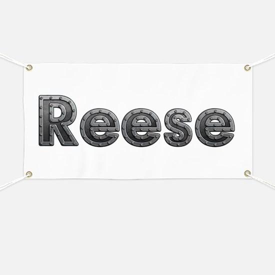 Reese Metal Banner