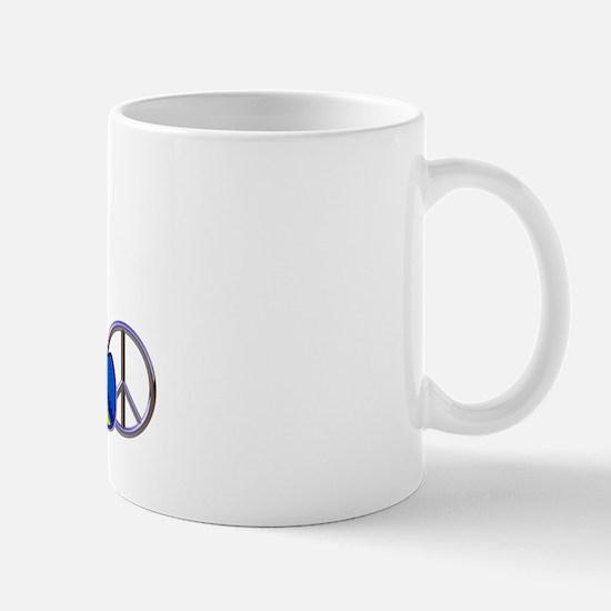 I Love ASL & Peace 1 Mug