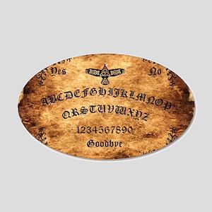 Celtic Raven Ouija Board 35x21 Oval Wall Decal